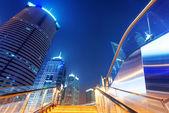 Shanghai skyscrapers — Stock Photo