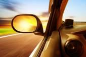 High-speed car — Stock Photo