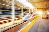 High-speed trains — Stock Photo