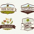 Vintage & Retro Organic Badges — Stock Vector #55148547