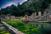 Burtrint, archaeological site — Stock Photo
