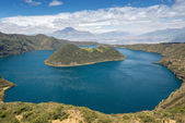 Cuicocha crater lake, Reserve Cotacachi-Cayapas, Ecuador — Stock Photo