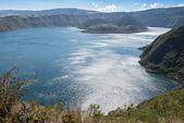 Cuicocha Jezioro Kraterowe, rezerwy Cotacachi-zgoda od Cayapas, Ekwador — Zdjęcie stockowe
