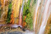Cascade of Colors, Caldera de Taburiente, la Palma (Spain) — Stock Photo