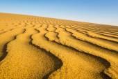 волны песка на закате, пляже маспаломаса, канареек бабушки — Стоковое фото