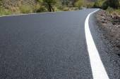 Newly paved road — Stock Photo