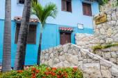 Colorful neighborhood of Las Penas, Guayaquil, Ecuador — Stock Photo