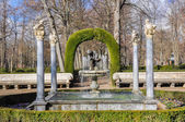 Fountain of the boy with the thorn, Aranjuez (Spain) — Stock Photo