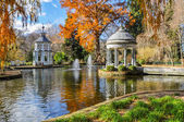 Chinescos pond, Prince's garden, Aranjuez (Madrid) — Stock Photo