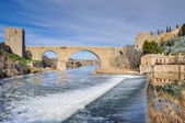 Bridge of San Martin, Toledo (Spain) — Photo