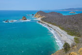 Los Frailes beach, Machalilla national park (Ecuador) — Stock Photo