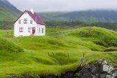 Town of Arnarstapi in Snaefellsnes peninsula, Iceland — Stock Photo