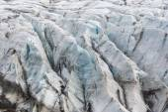 Svinafell Glacier, Vatnajokull national park, Iceland — Stock Photo