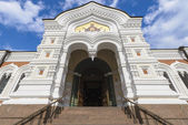 Gate of the Alexander Nevsky Cathedral, Tallinn, Estonia — Stock Photo