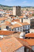 Town of Coria, Extremadura (Spain) — Stock Photo