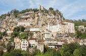 The village of Rocamadour in Midi-Pyrenees (France) — Stock Photo