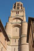 Belfry of the Albi Cathedral, France — Stock Photo