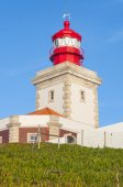 Lighthouse of Cabo da Roca (Portugal) — Stock Photo