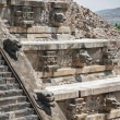 Temple of Quetzalcoatl, Teotihuacan (Mexico) — Stock Photo #61283481