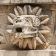 Detail of the temple of Quetzalcoatl, Teotihuacan (Mexico) — Stock Photo #61283643