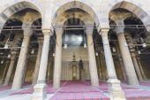 Mešita al-nasir muhammad v citadele v káhiře — Stock fotografie