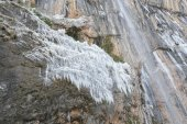 Chorron de Viguera waterfall, La Rioja (Spain) — Stock Photo