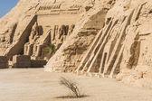 Temple of Ramses and Temple of Nefertari, Abu Simbel, Egypt — Stock Photo
