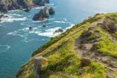 Coast of Biscay near San Juan de Gaztelugatxe, Basque Country (Spain) — Stock Photo