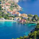 Assos village, Kefalonia island, Greece — Stock Photo #77064899