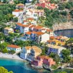 Assos village, Kefalonia island, Greece — Stock Photo #77065241