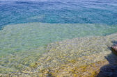 Green and blue water — Stock Photo