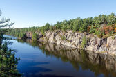 French river — Stock Photo