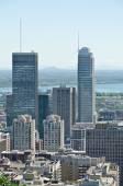 Montreal Skyscrapers — Stock Photo