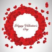 Valentine's day small hearts — Vettoriale Stock