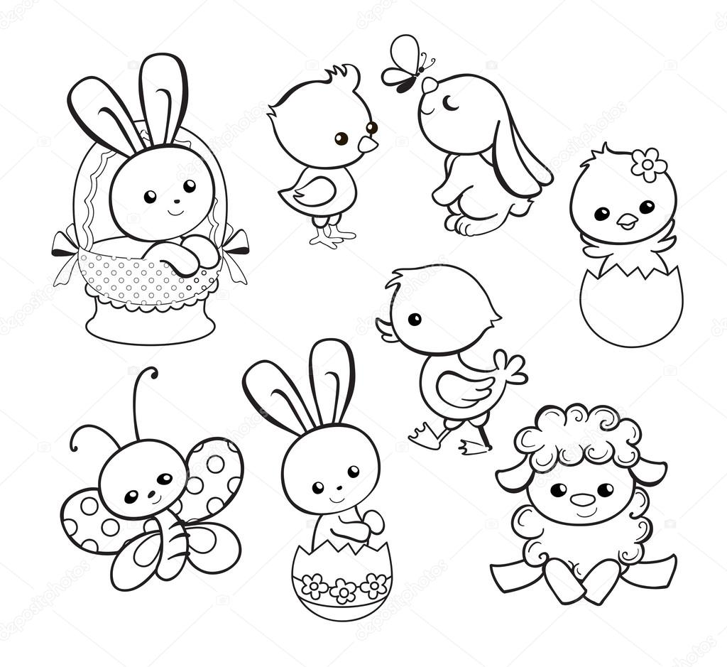 iconswebsite com icons website search icons   icon set  web icons  logo  business icons  button Disney Easter Coloring Pages  Cartoon Character Easter Coloring Pages