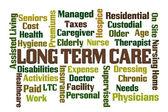 Long Term Care — Stock Photo