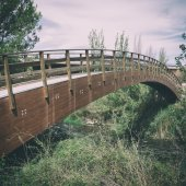 Bridge — Stockfoto