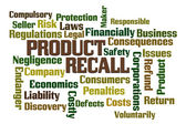 Product Recall — Stock Photo