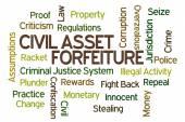 Zivile asset verfall — Stockfoto