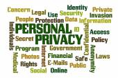 Personal Privacy — Stock fotografie