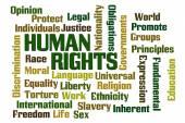 Human Rights — Stock Photo
