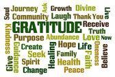 Gratitude — Stock Photo