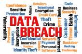 Data Breach — Stock Photo