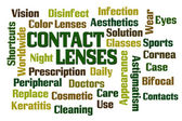 Contact Lenses — Stock Photo