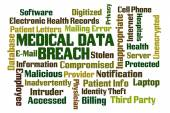 Medical Data Breach — Stock Photo