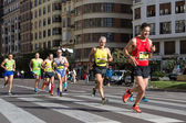 Marathonlopers — Stockfoto