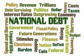National Debt — Stock Photo