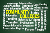 Community Colleges — Stockfoto