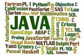 Java Programming — Stock Photo
