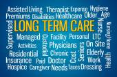 Long Term Care — Stock Photo